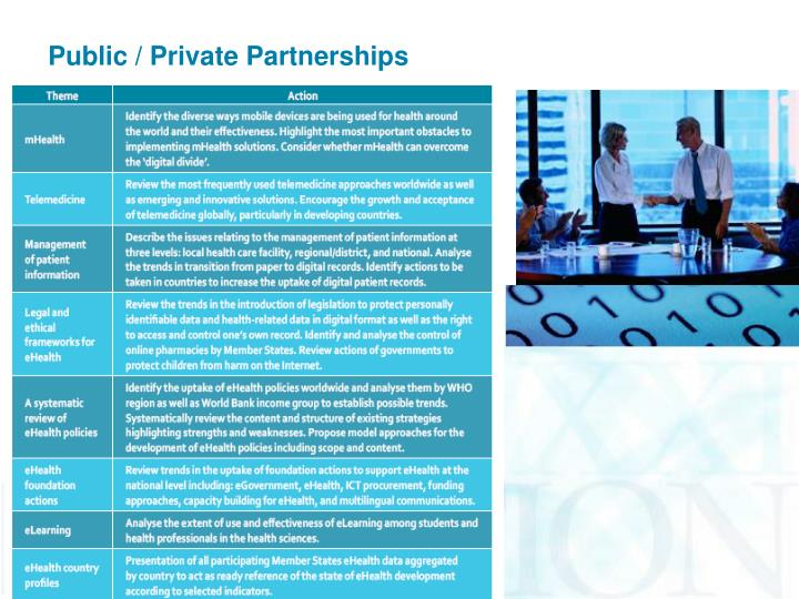 Public / Private Partnerships