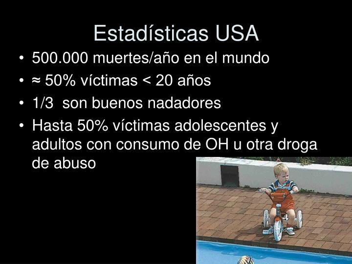 Estadísticas USA