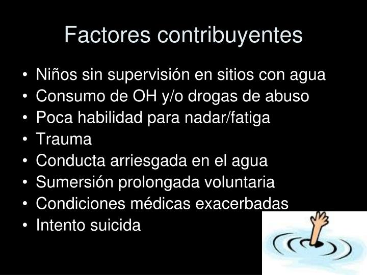 Factores contribuyentes