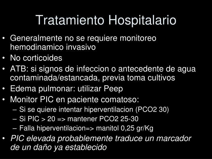Tratamiento Hospitalario