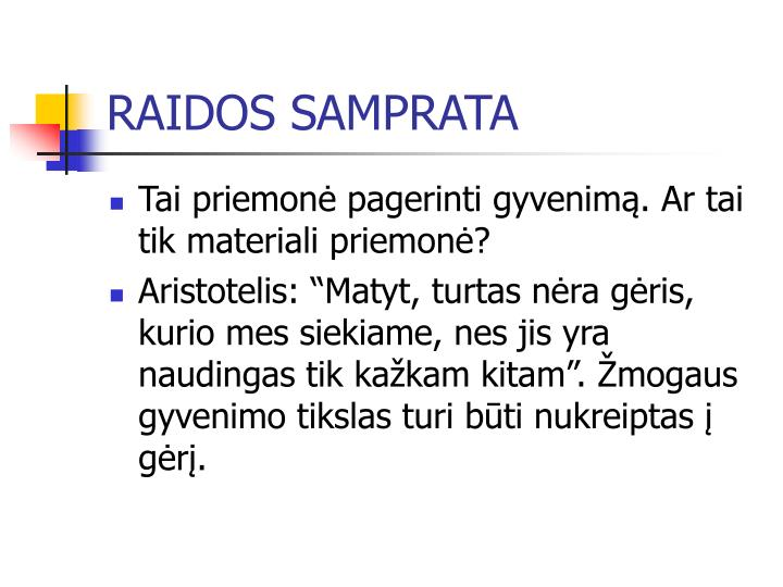RAIDOS SAMPRATA