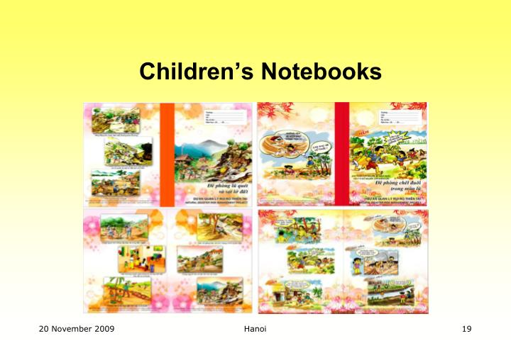 Children's Notebooks