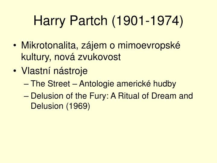 Harry Partch (1901-1974)