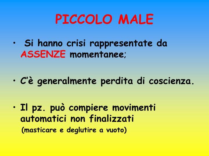PICCOLO MALE
