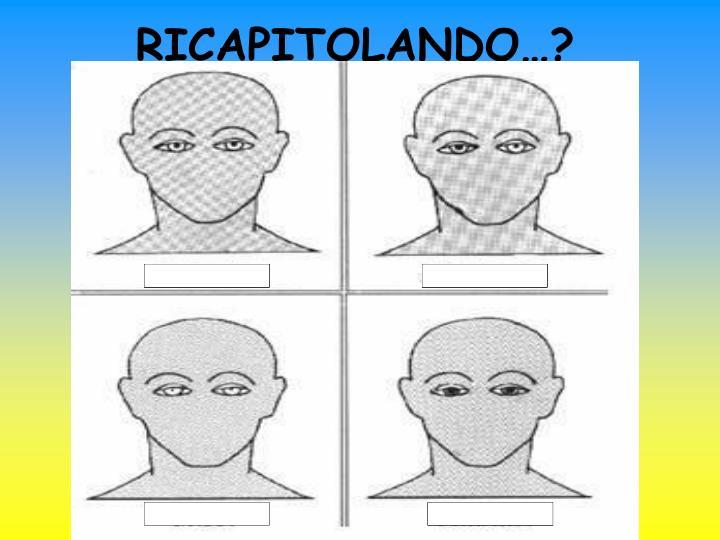 RICAPITOLANDO…?