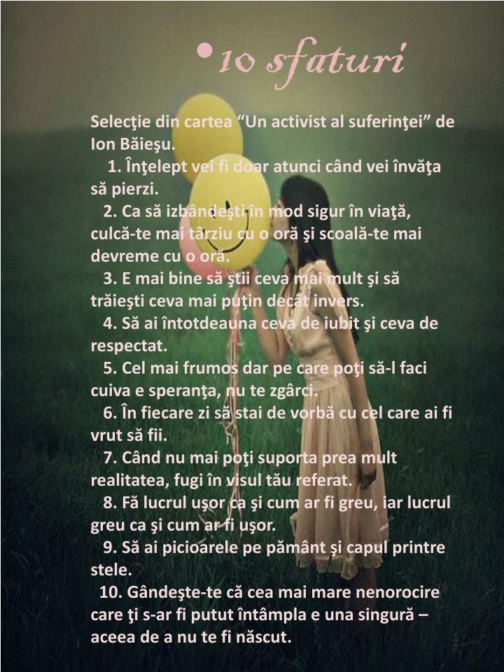 10 sfaturi