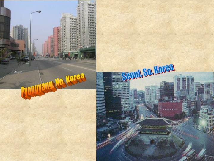 Seoul, So. Korea
