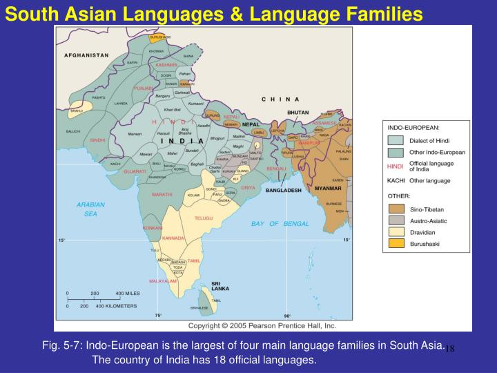 South Asian Languages & Language Families