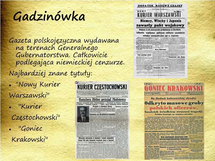 Gadzinówka