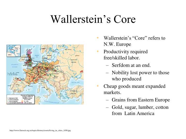 Wallerstein's Core