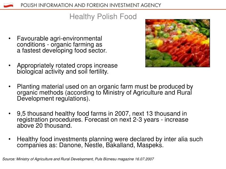 Favourable agri-environmental