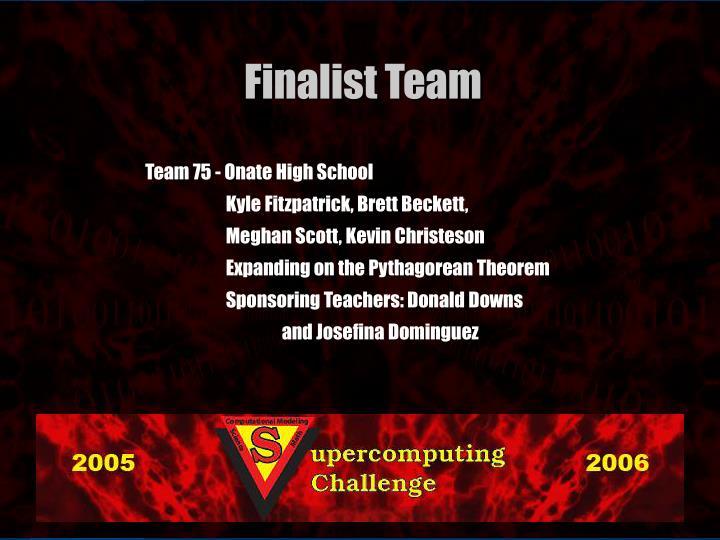 Team 75 -