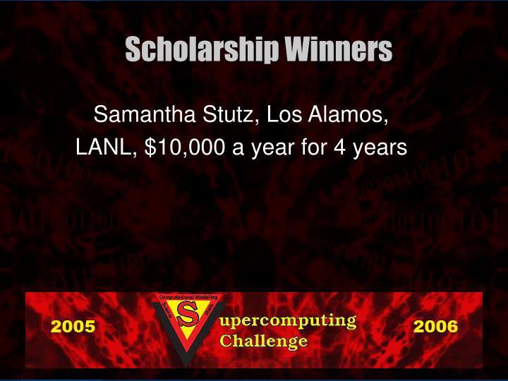 Samantha Stutz, Los Alamos,