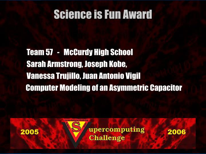 Team 57   -   McCurdy High School