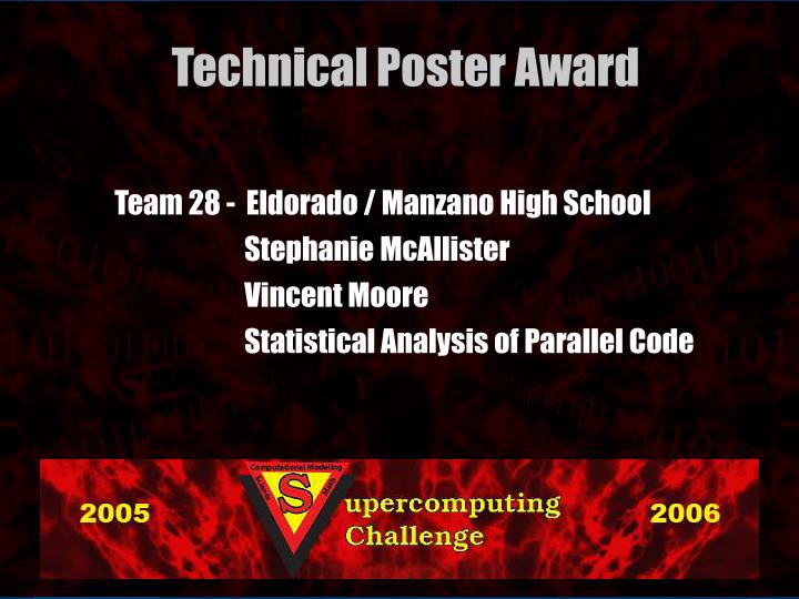 Team 28 -  Eldorado / Manzano High School