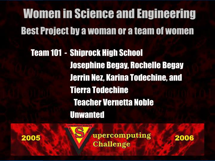 Team 101  -  Shiprock High School