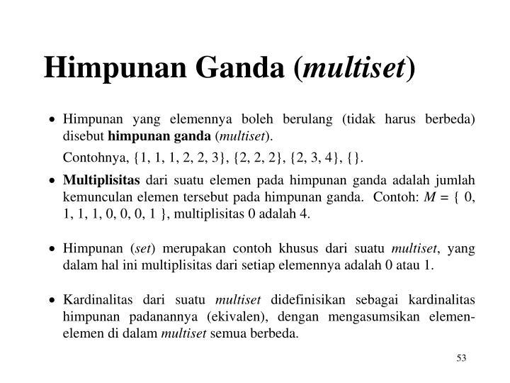 Himpunan Ganda (