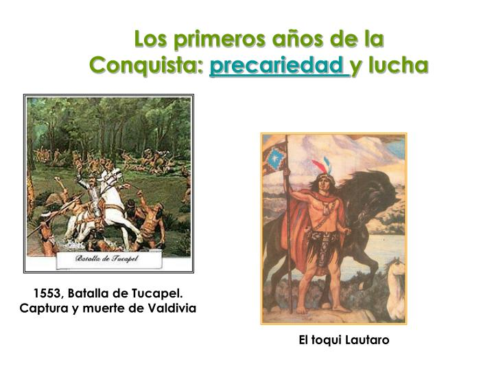 , Batalla de Tucapel.