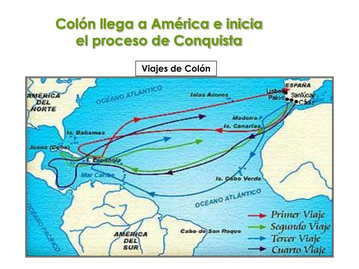 Viajes de Colón