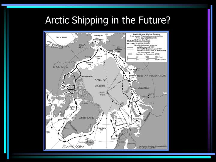 Arctic Shipping in the Future?