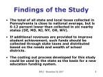 findings of the study3