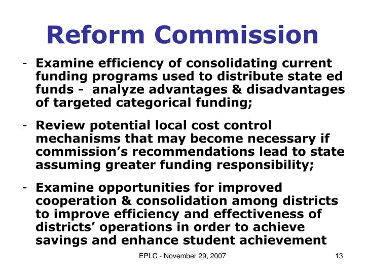 Reform Commission