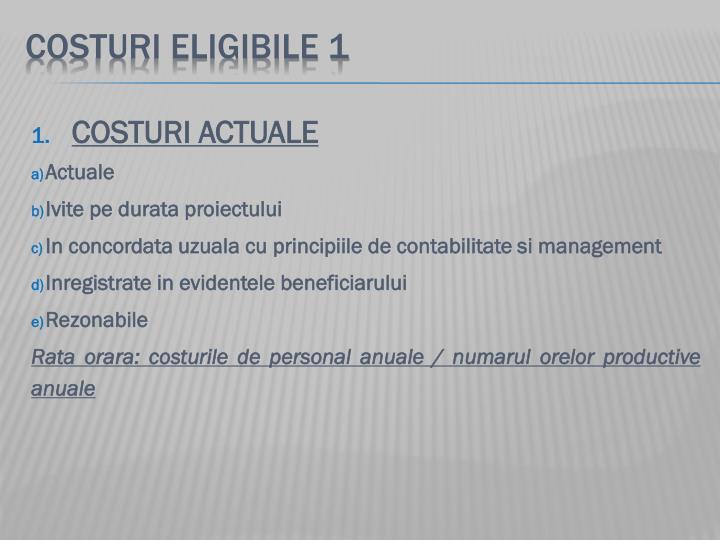 COSTURI ELIGIBILE 1