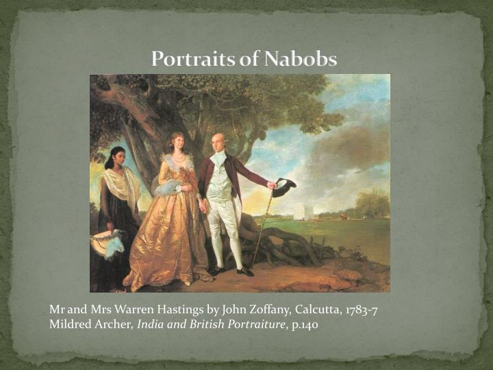 Portraits of Nabobs