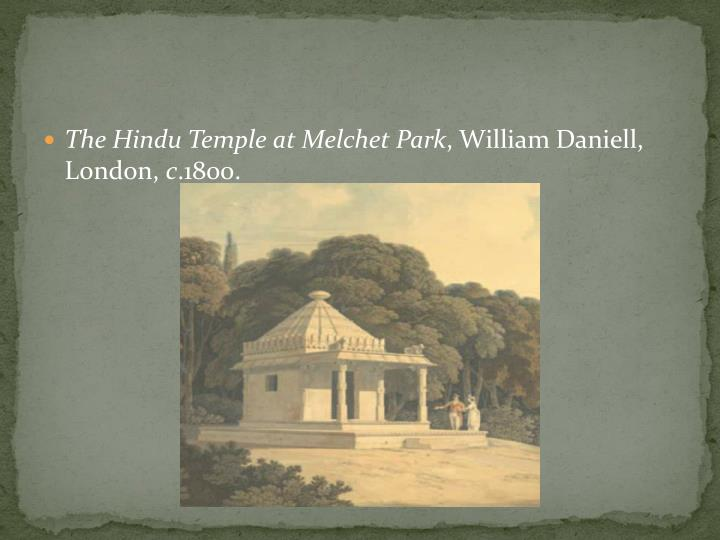 The Hindu Temple at Melchet Park