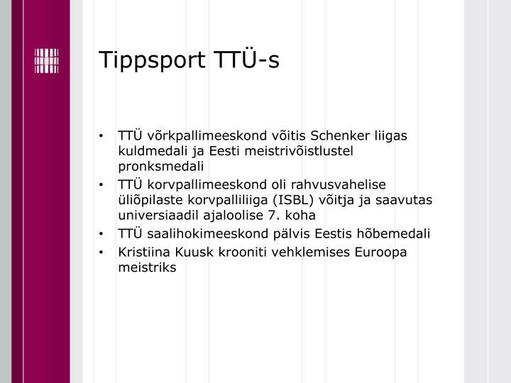 Tippsport TTÜ-s