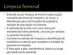 limpeza terminal