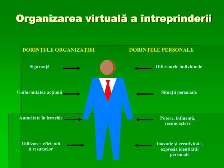 Organizarea virtuală a întreprinderii