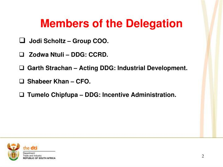 Members of the Delegation