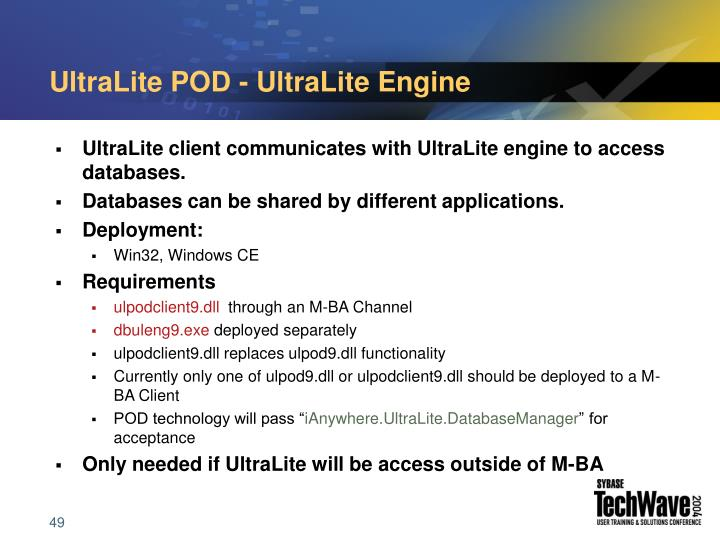 UltraLite POD - UltraLite Engine