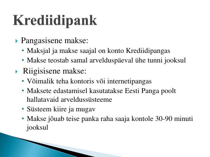 Krediidipank