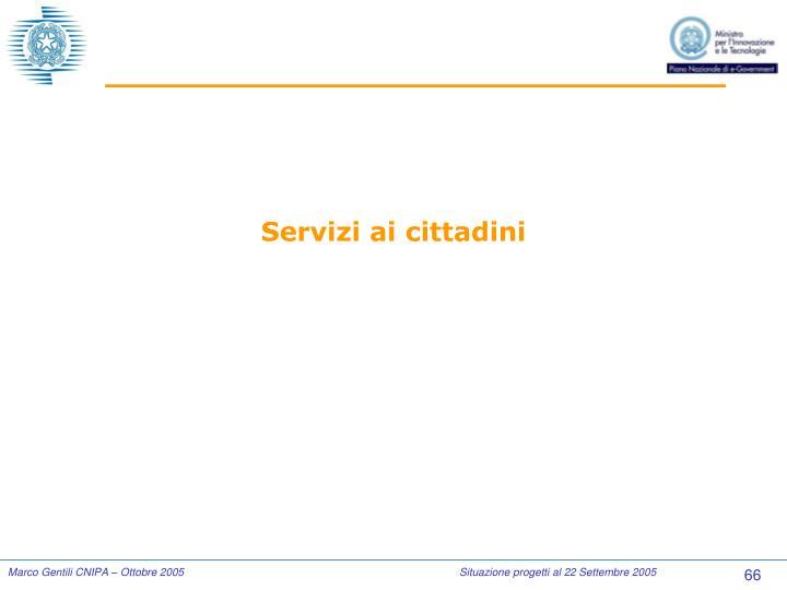 Servizi ai cittadini