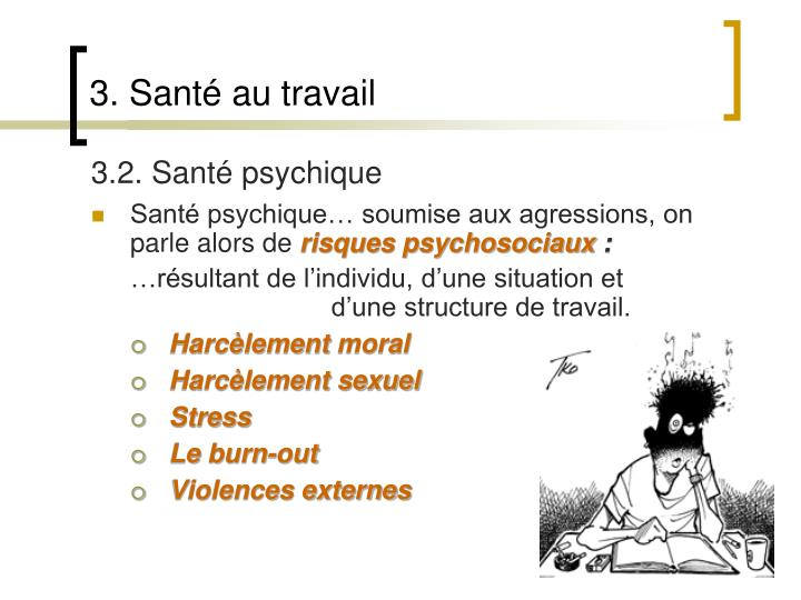 3.2. Santé psychique
