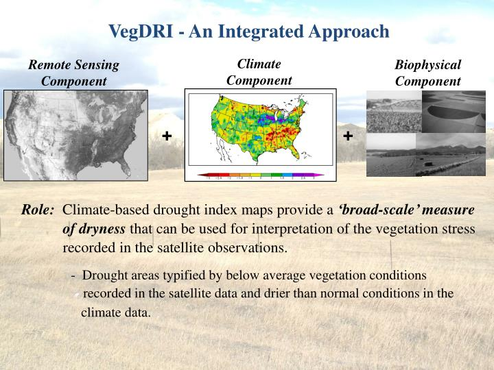 VegDRI - An Integrated Approach