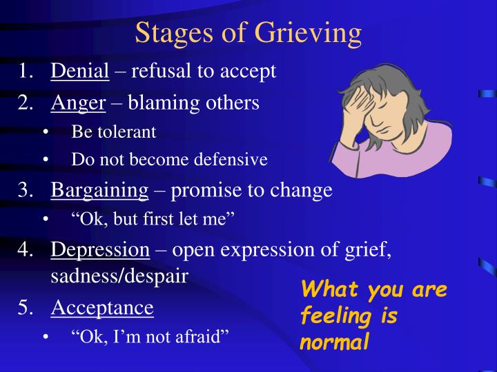 Stages of Grieving