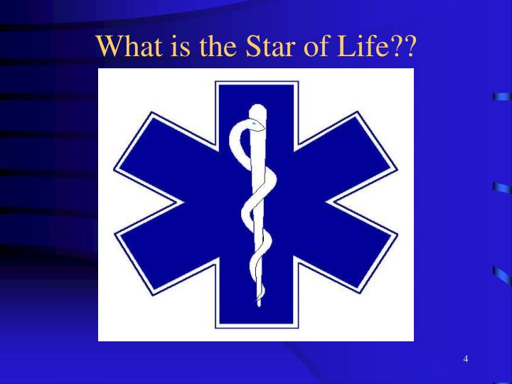 What is the Star of Life??
