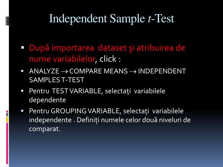 Independent Sample