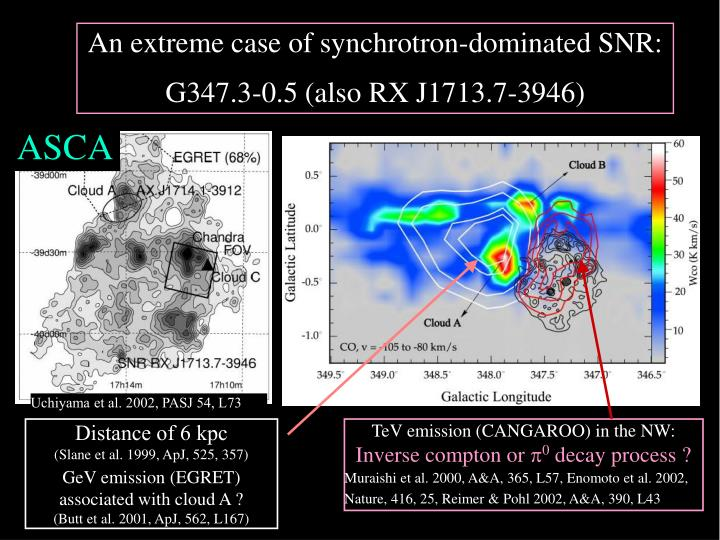 An extreme case of synchrotron-dominated SNR: G347.3-0.5
