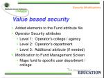 value based security