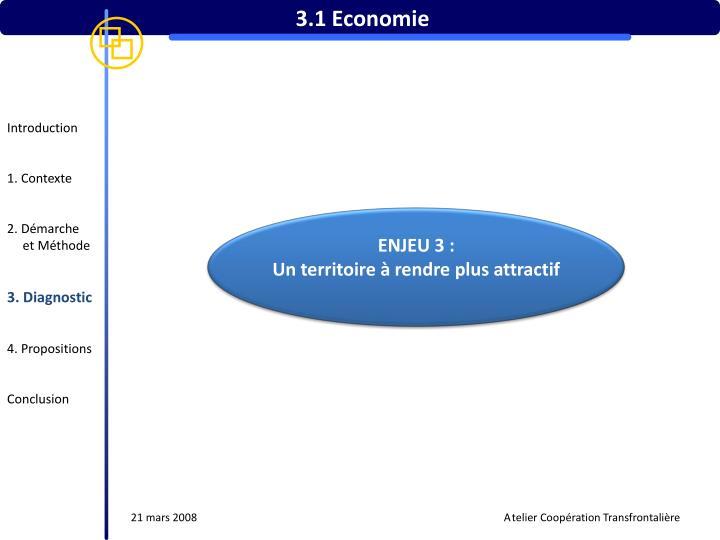 3.1 Economie