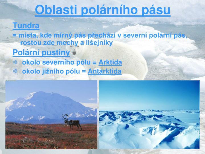 Oblasti polárního pásu