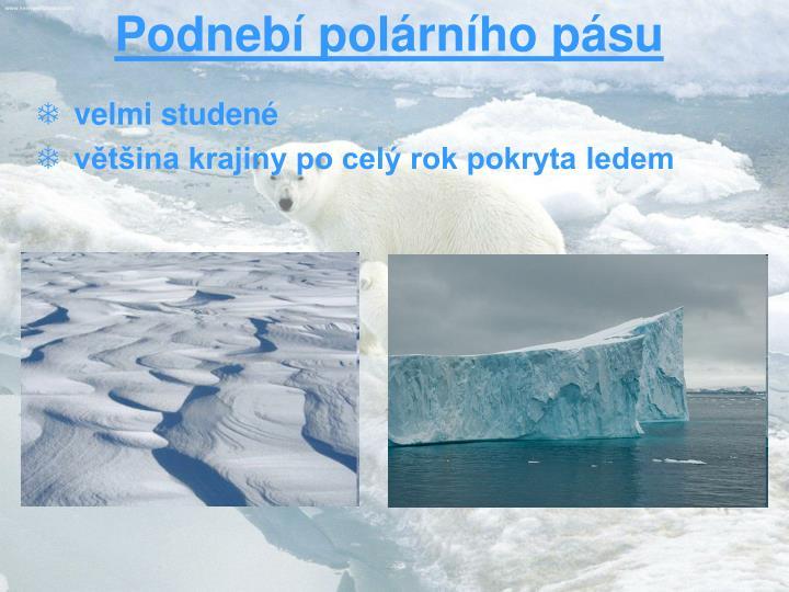 Podnebí polárního pásu