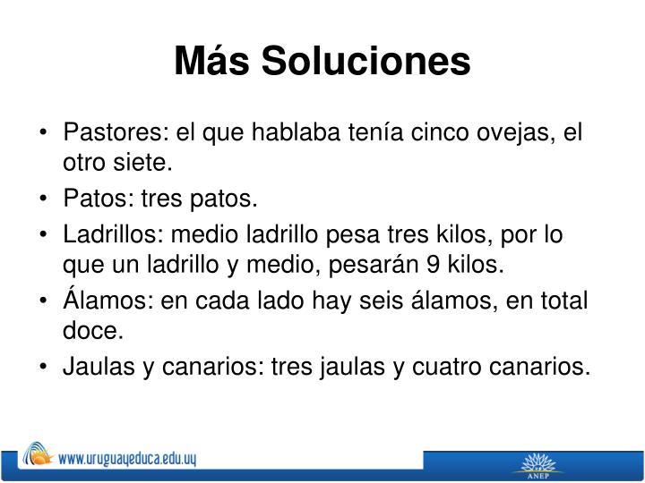 Más Soluciones