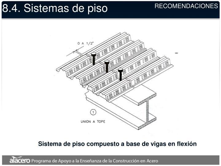8.4. Sistemas de piso