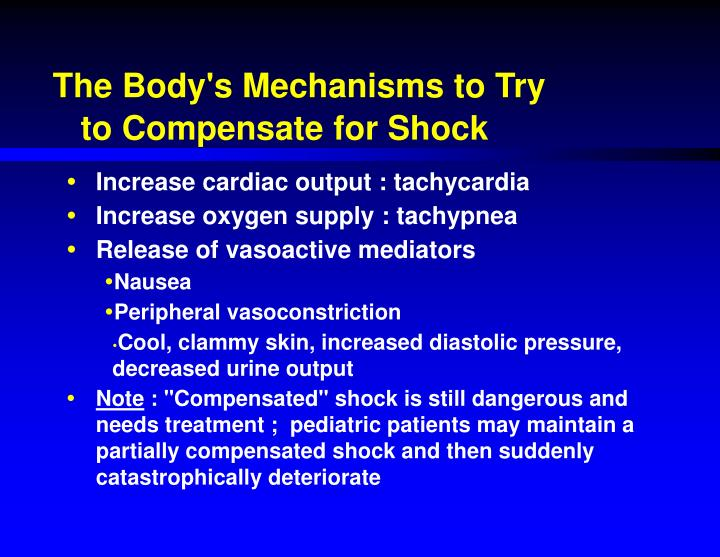 The Body's Mechanisms to Try