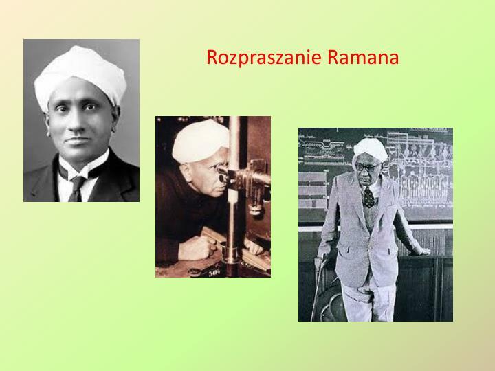 Rozpraszanie Ramana